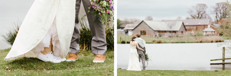 Sandhole Oak Barn Wedding Photographers ARJ Photography