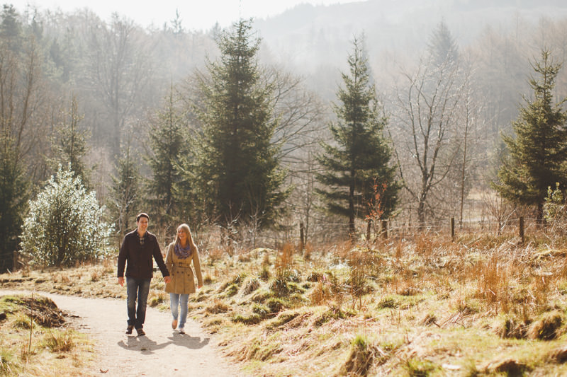 macclesfield forest engagement shoot - pre wedding photography cheshire