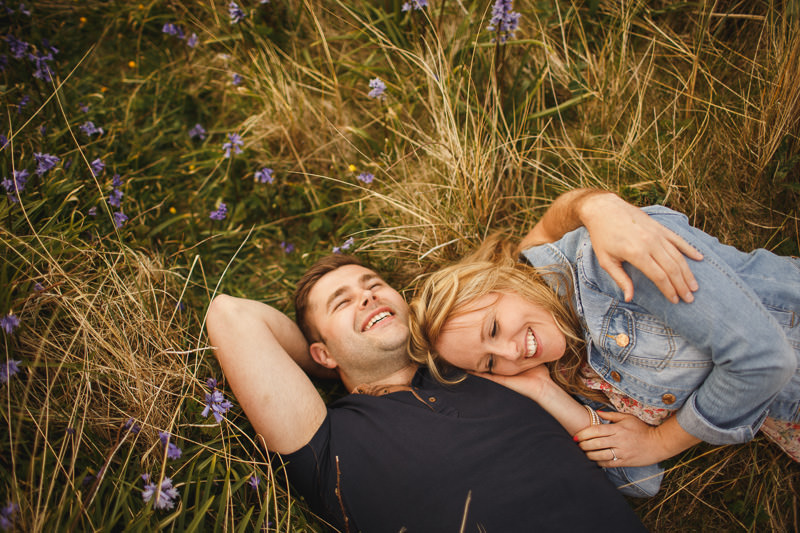 engagement shoot anglesey - dan and corinne - anglesey wedding photographer