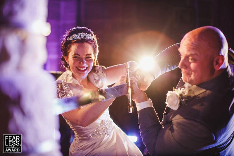 Fearless award winning wedding photographer 1