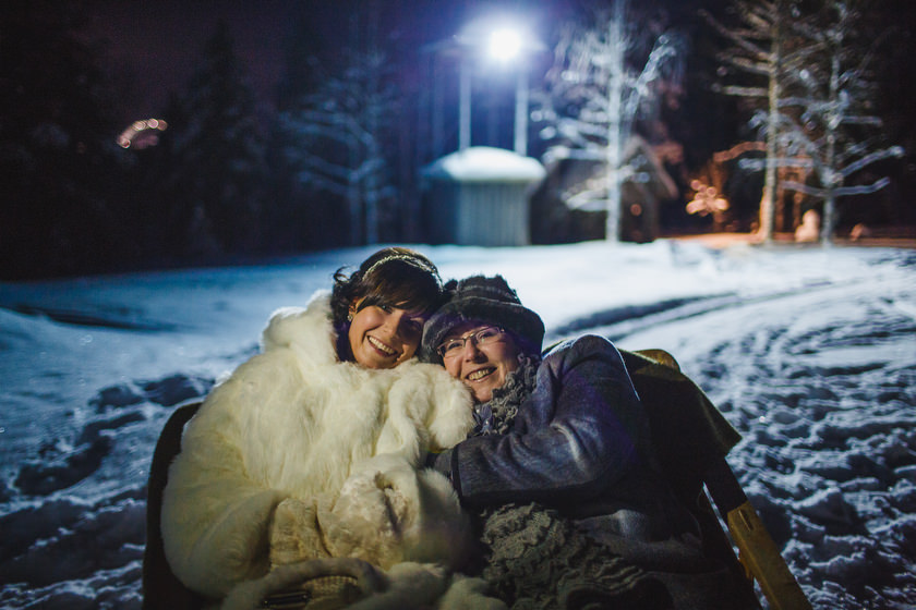Lapland wedding photographer Kittila Snow Village 057