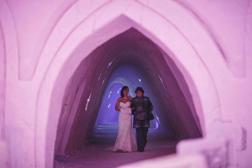 Lapland wedding photographer Kittila Snow Village 061