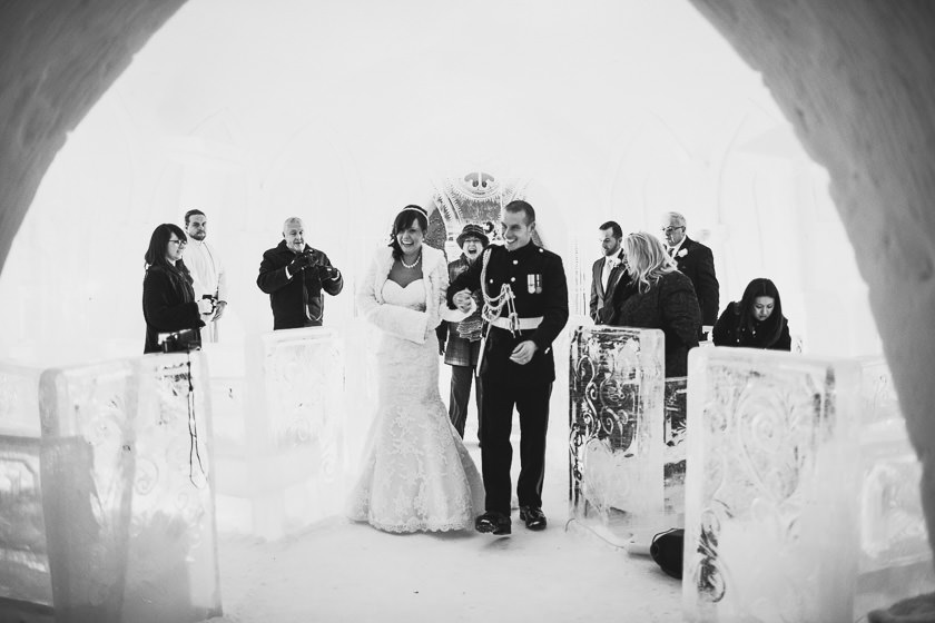 Lapland wedding photographer Kittila Snow Village 070