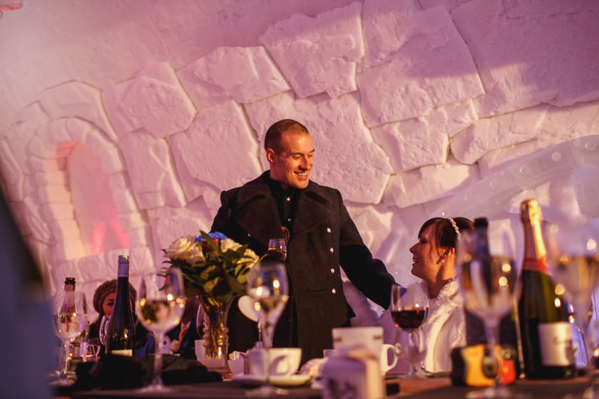 Lapland wedding photographer Kittila Snow Village 087