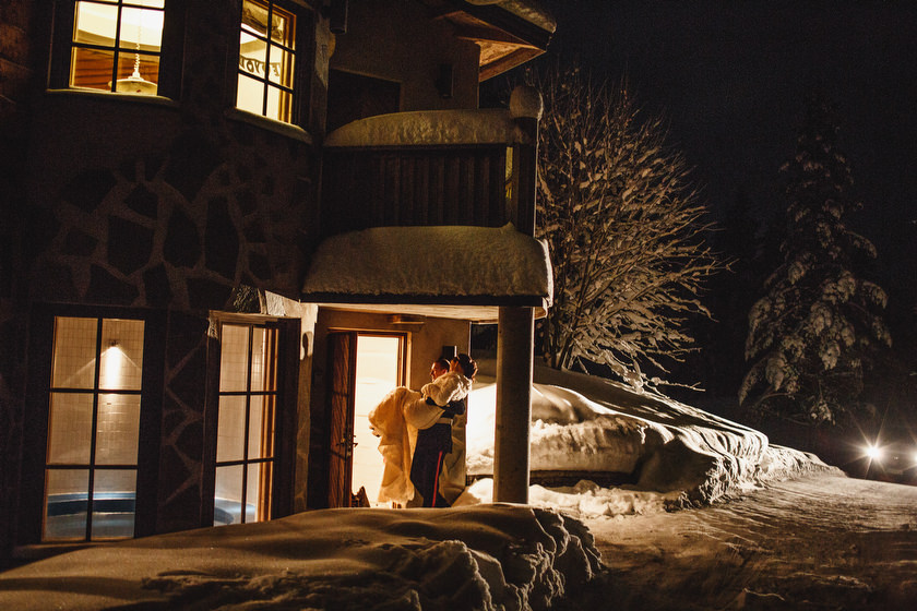 Lapland wedding photographer Kittila Snow Village 090