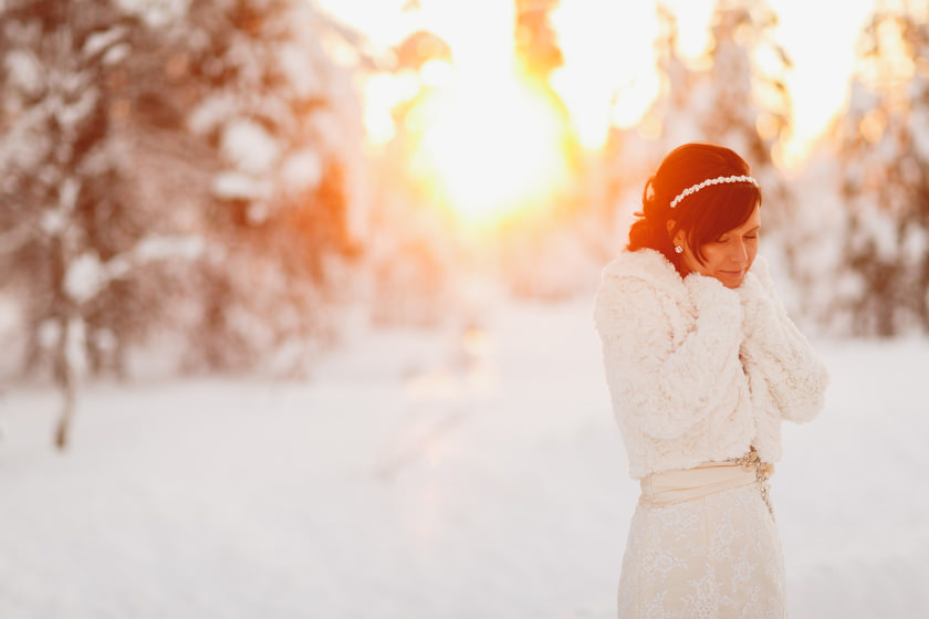 Lapland wedding photographer Kittila Snow Village 098