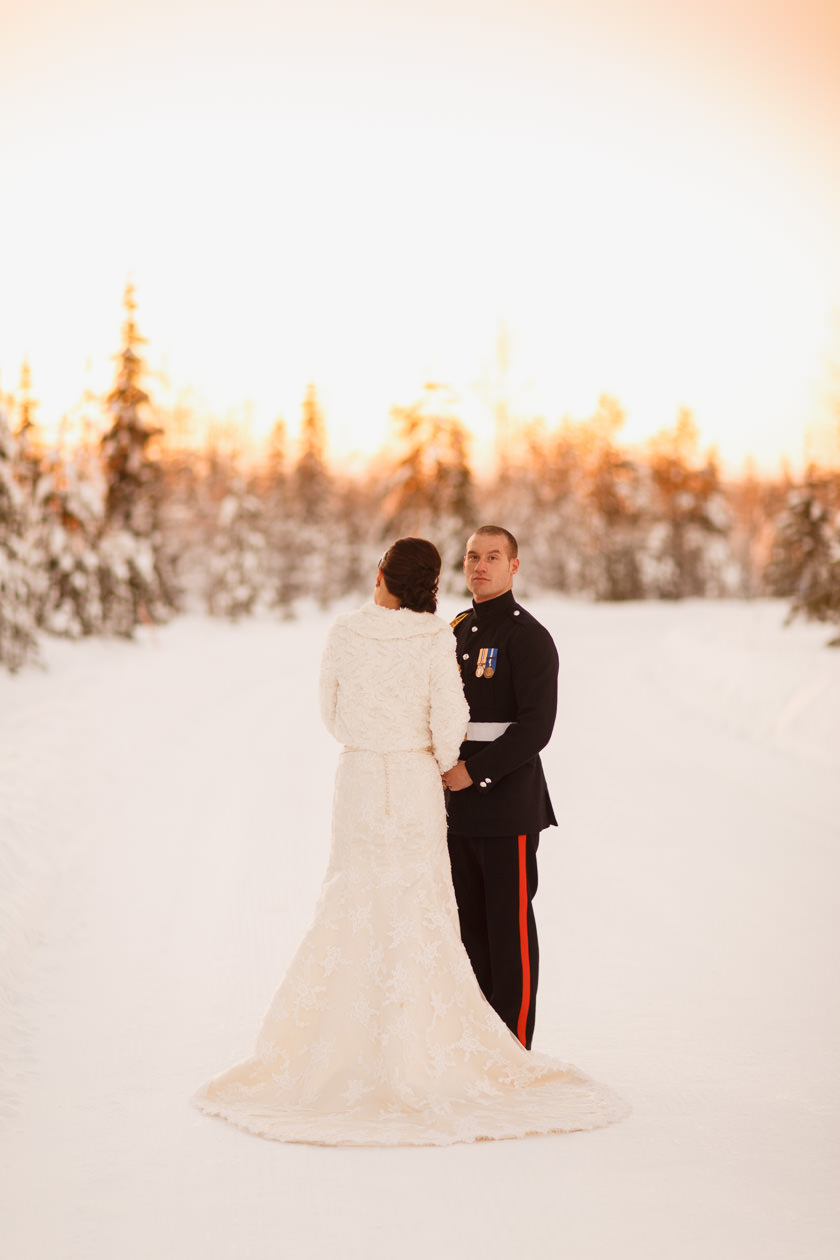 Lapland wedding photographer Kittila Snow Village 099