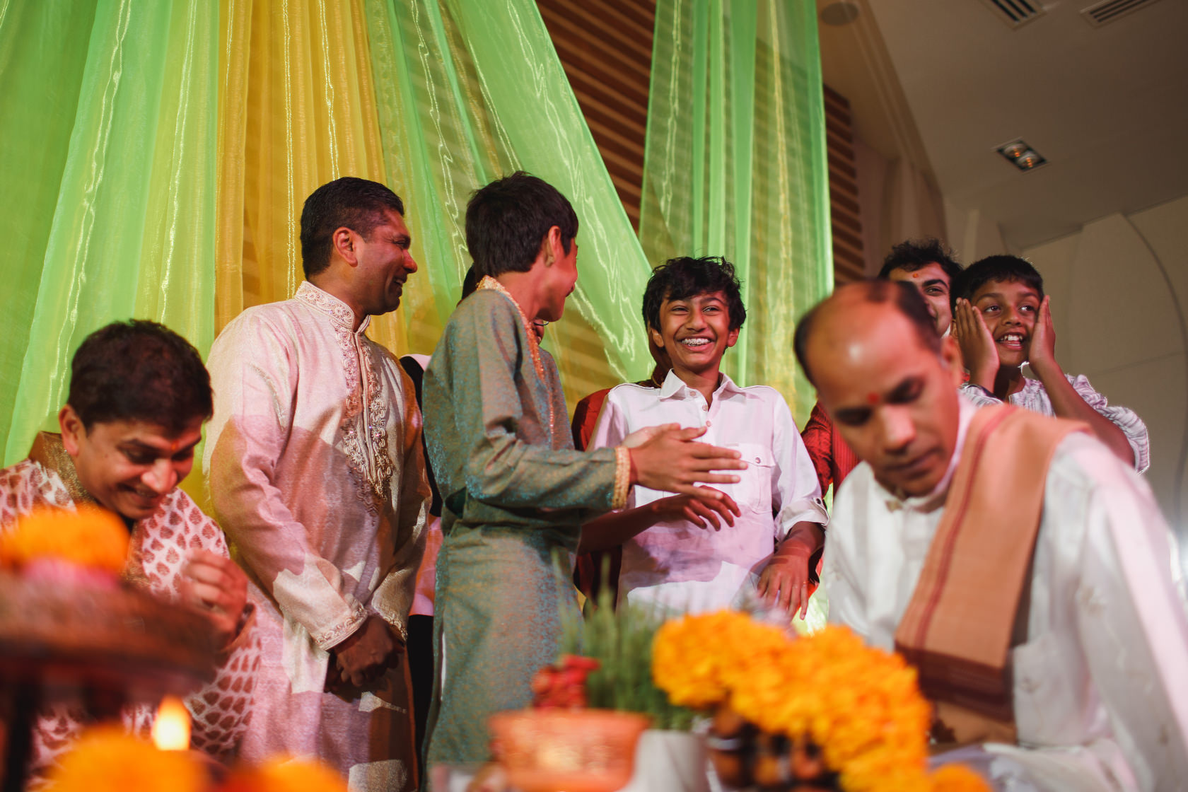Thailand Wedding Photographer - Mandvo Ceremony