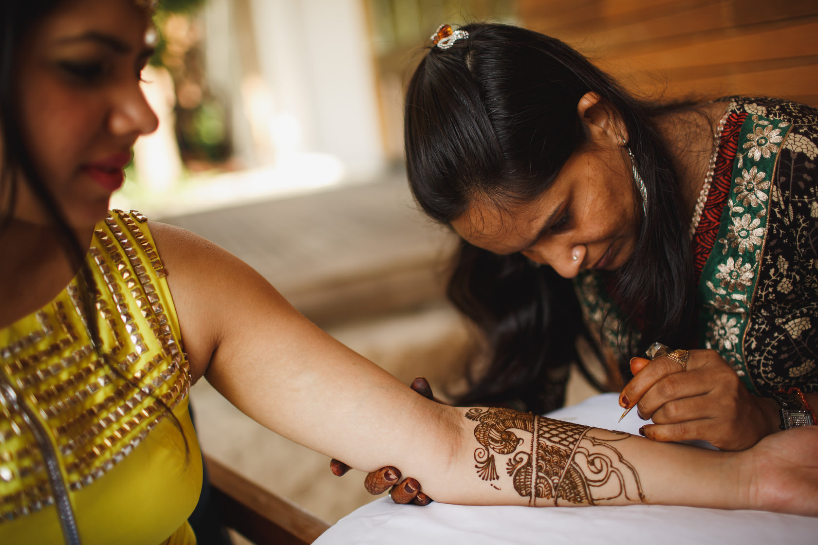 Thailand Destination Wedding Photography - Mendhi