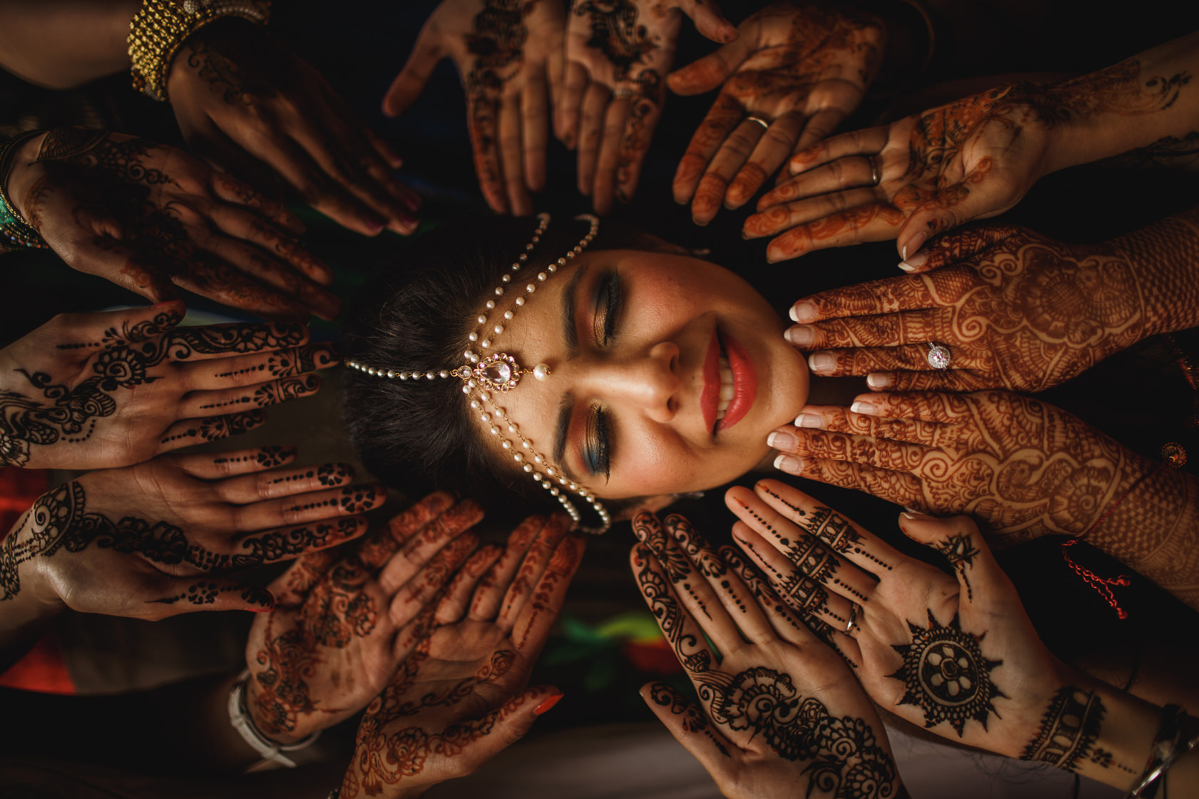 Amazing Creative Indian Wedding Photography by ARJ Photography