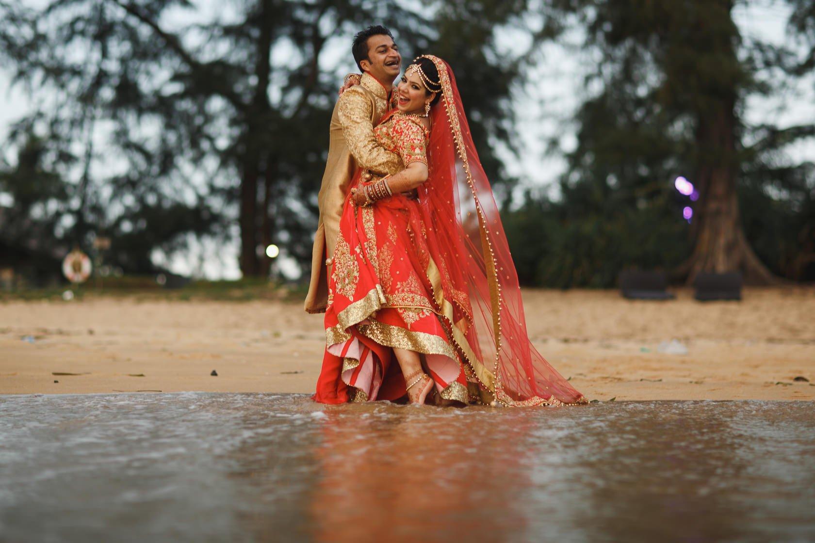 Hindu Destination Wedding Photography Thailand