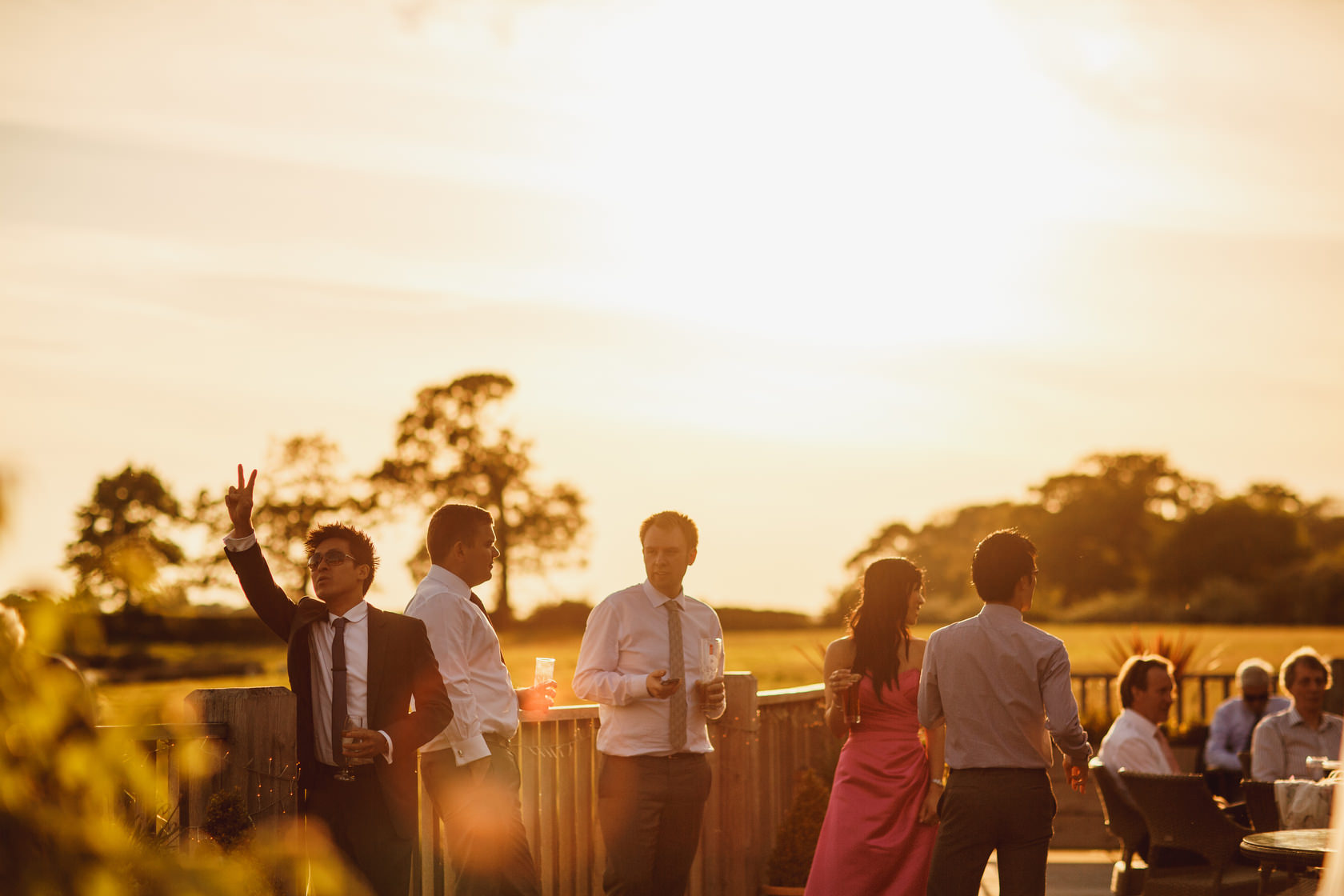 Weddings Sandhole Oak Barn - ARJ Photography