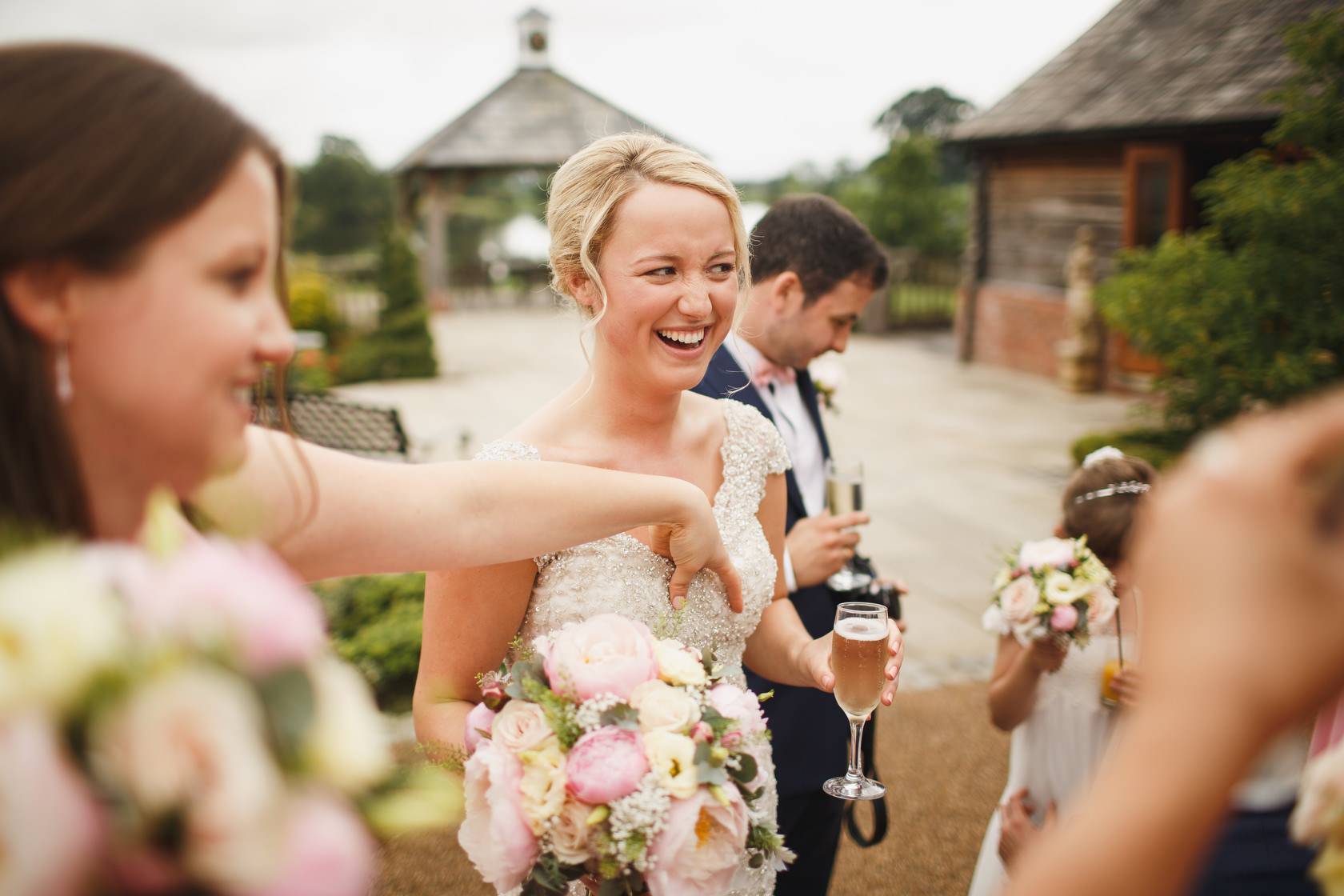 Sandhole Oak Barn Wedding Photography 27