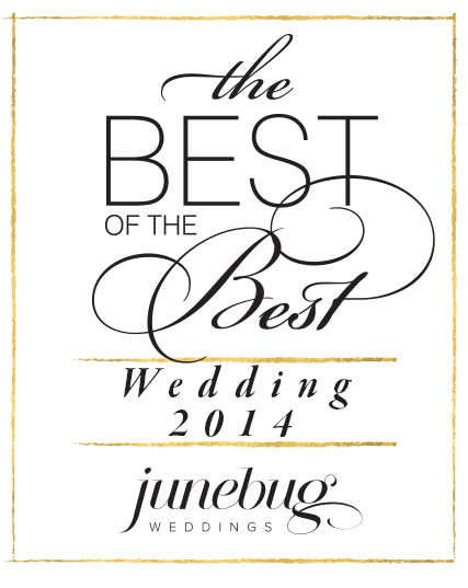 Junebug Weddings Best of the Best Award Winner