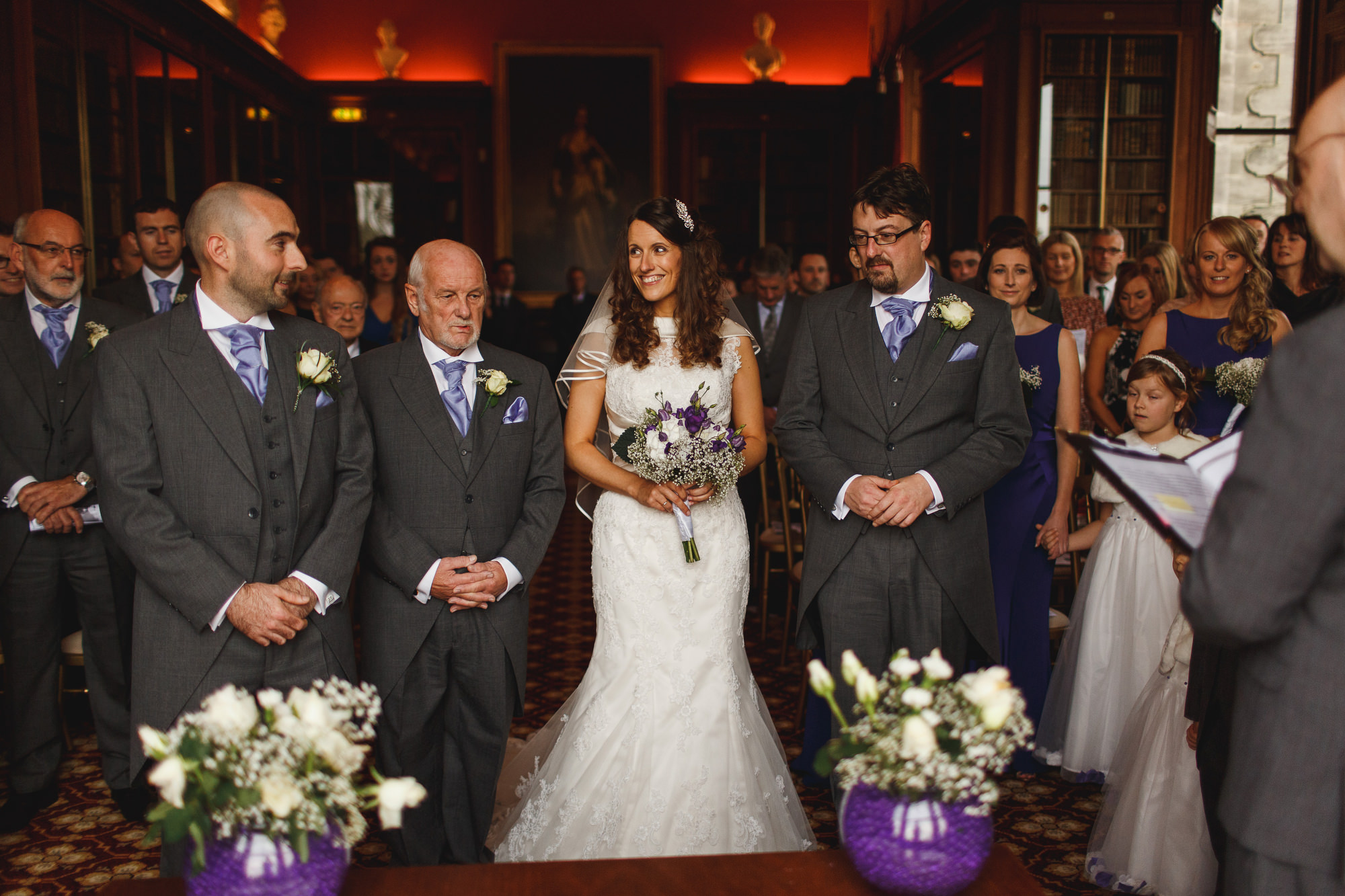 Sandon Hall Wedding Photographer - ARJ Photography