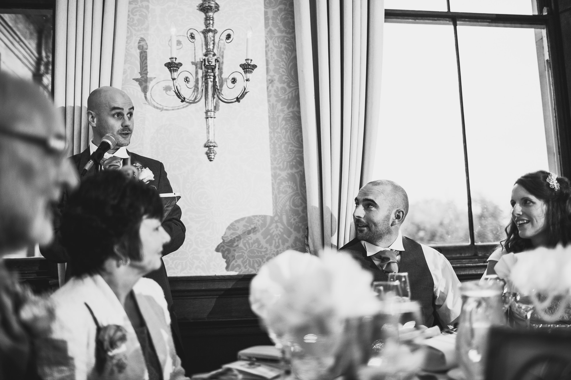 Sandon Hall Wedding - ARJ Photography
