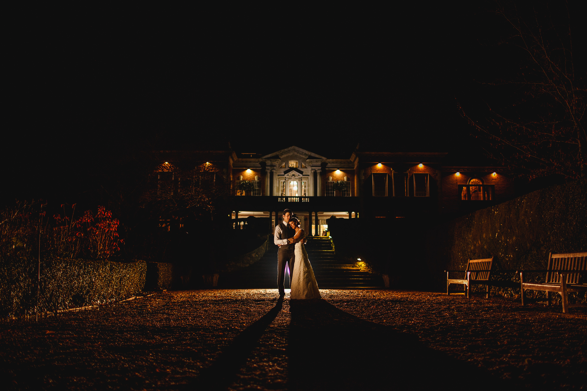 Eaves Hall Weddings - ARJ Photography
