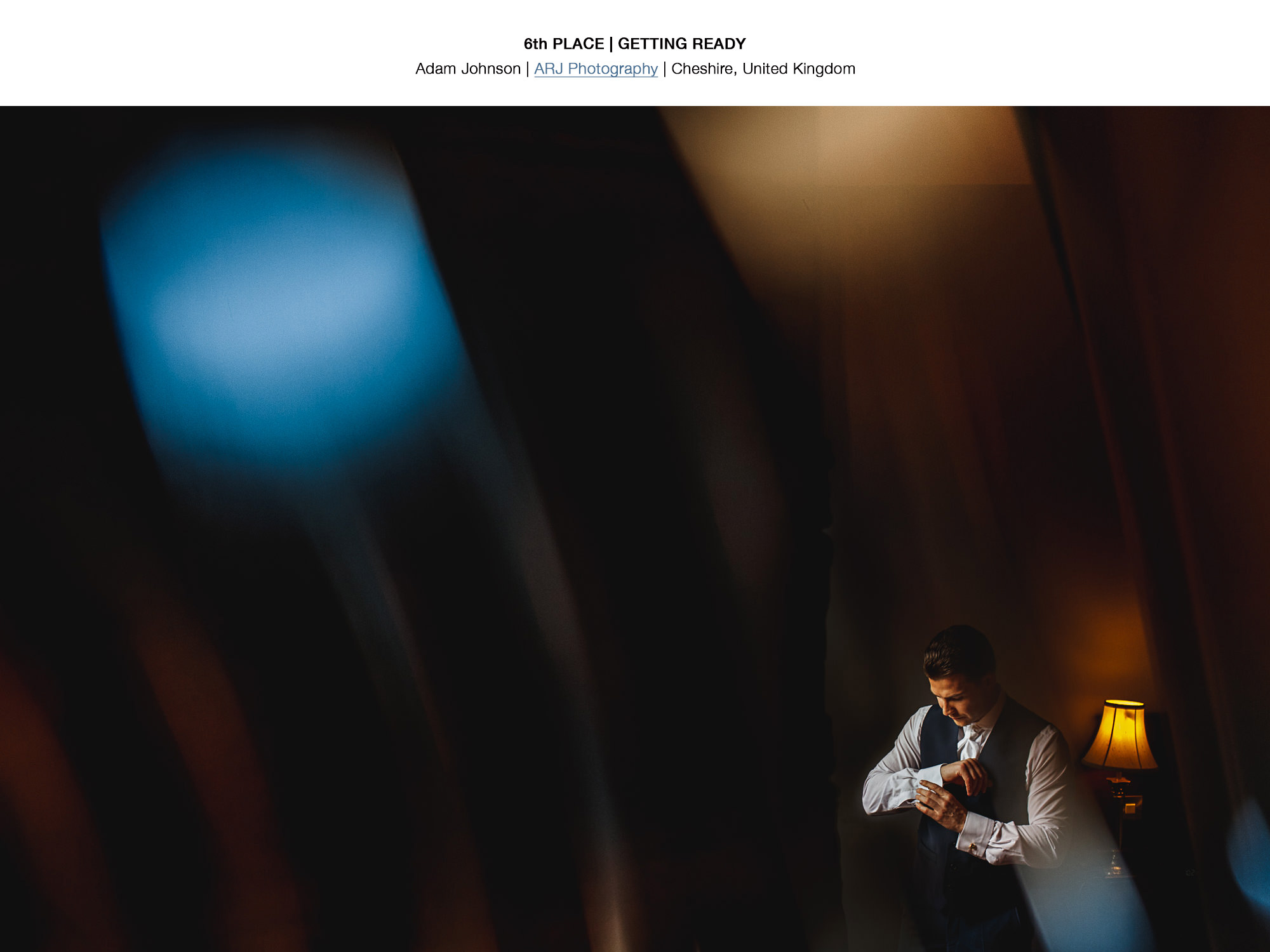 Groom Getting Ready - Award Winning Wedding Photography