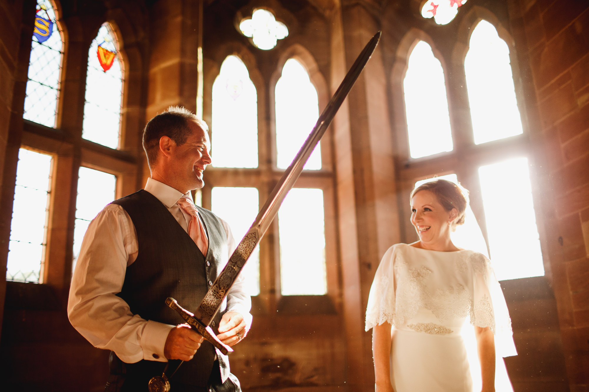 Creative Peckforton Castle Wedding Photography