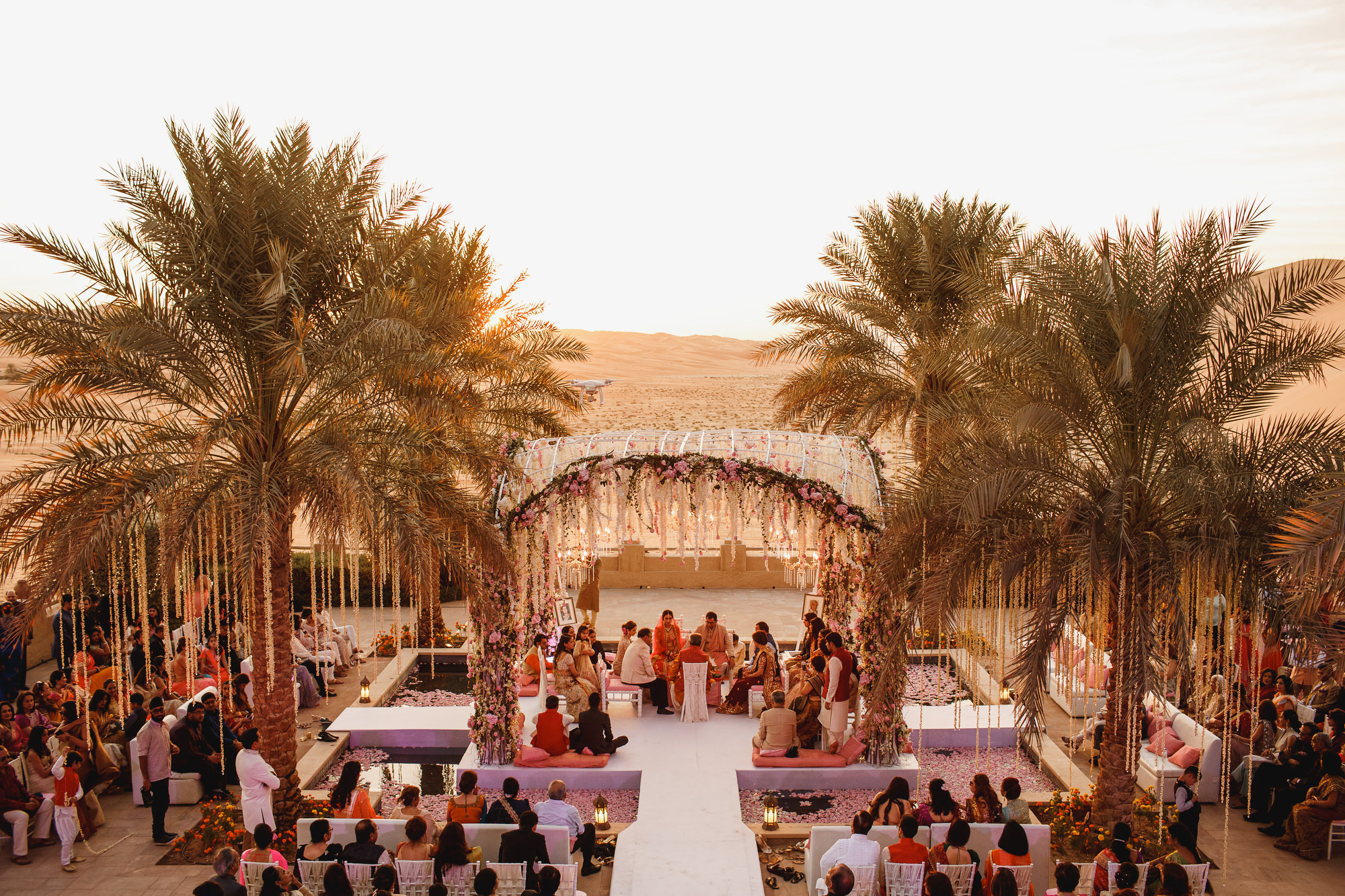 Abu dhabi destination wedding qasr al sarab