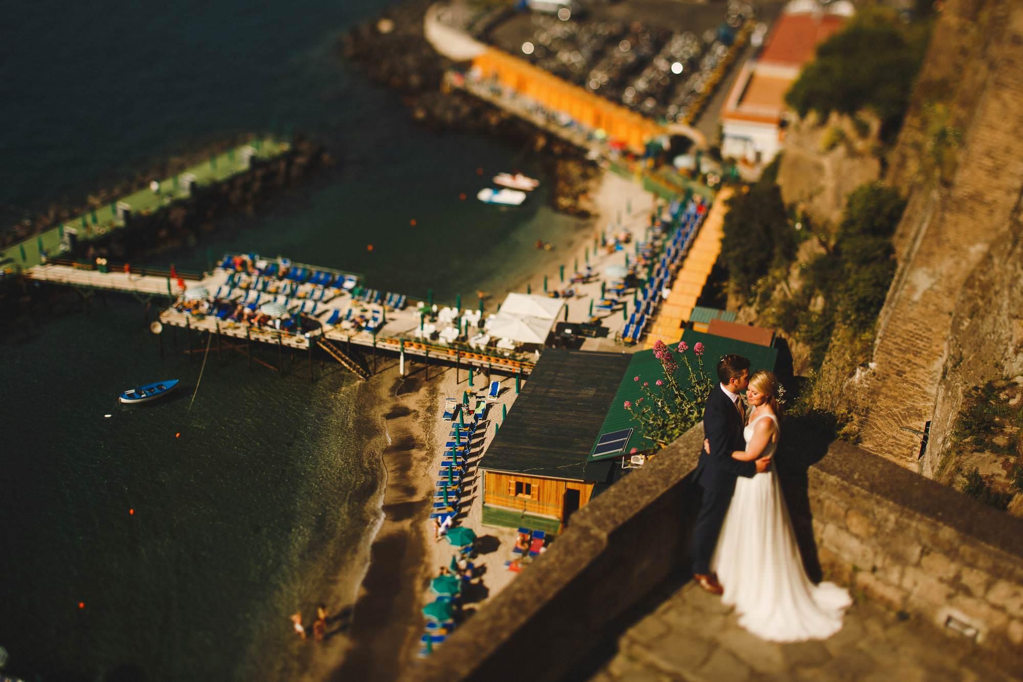 Destination wedding Sorrento