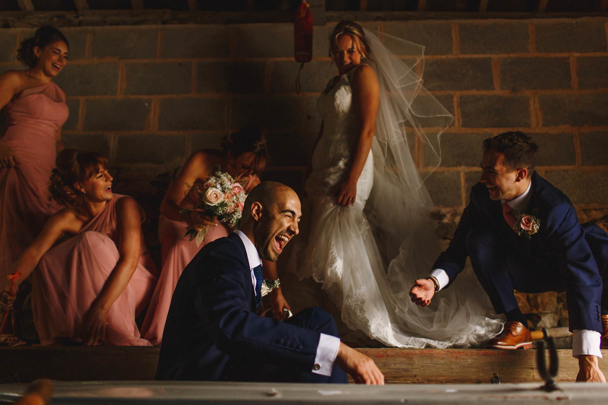 Lancashire wedding photography - Browsholme Hall