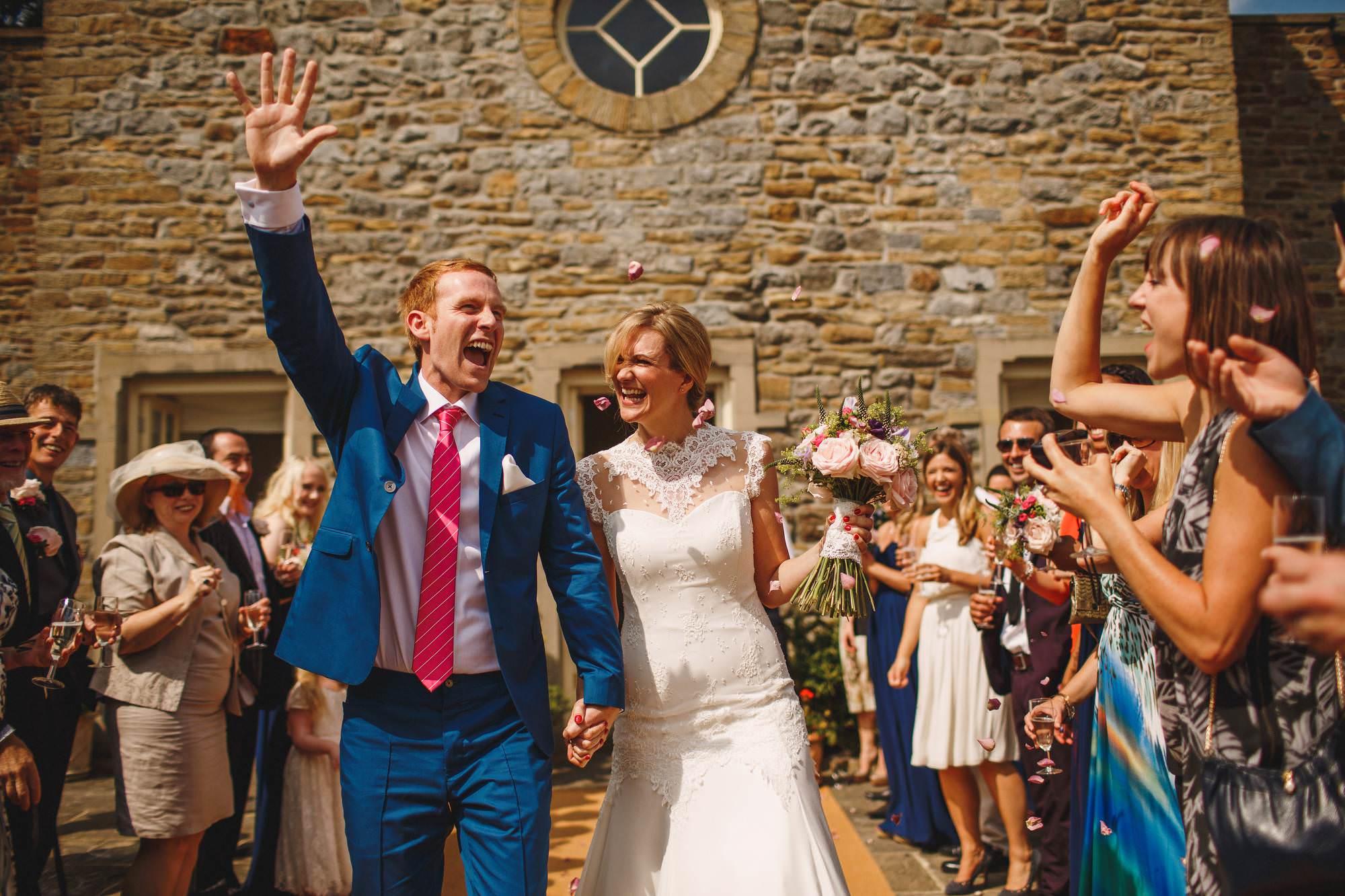 Yorkshire wedding photography - Eden Broughton Hall
