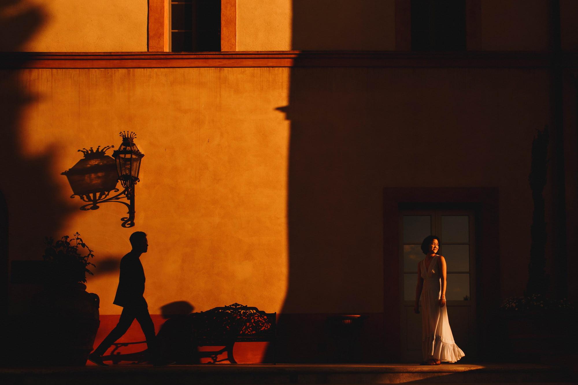 Artistic destination wedding photography castello di casole Tuscany