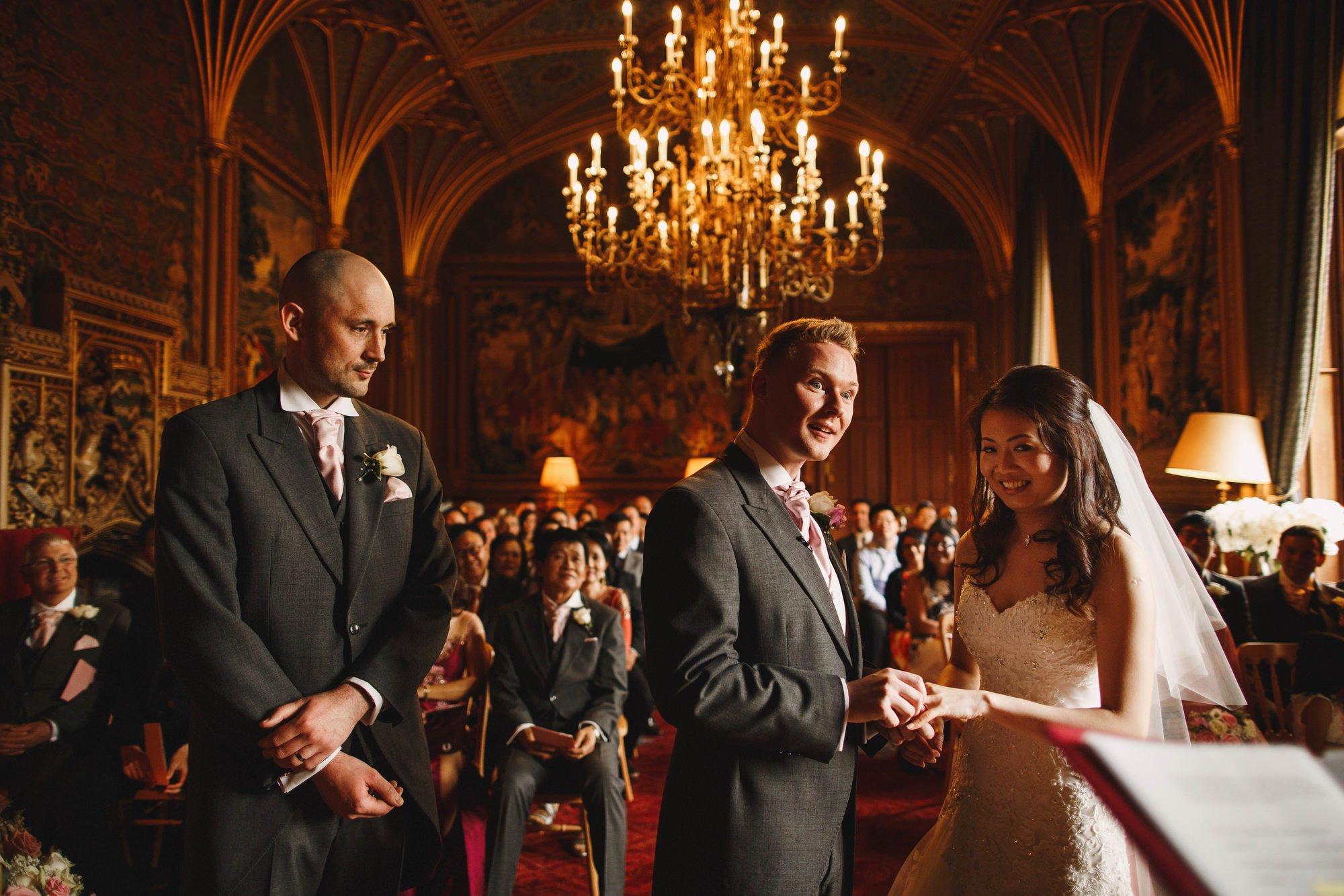 Eastnor castle wedding photography Cotswolds