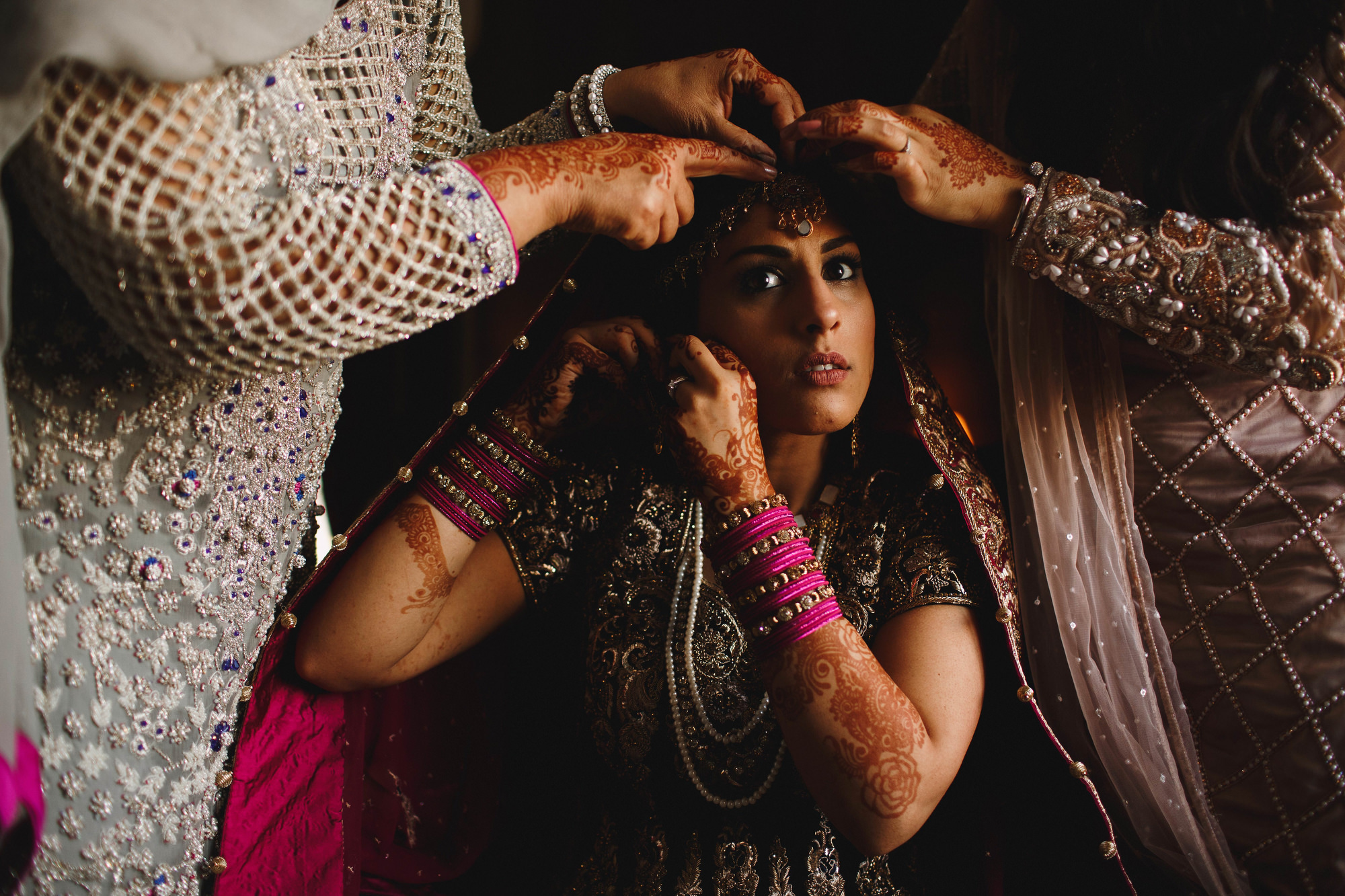 Yorkshire wedding photography - muslim wedding at Hazlewood Castle