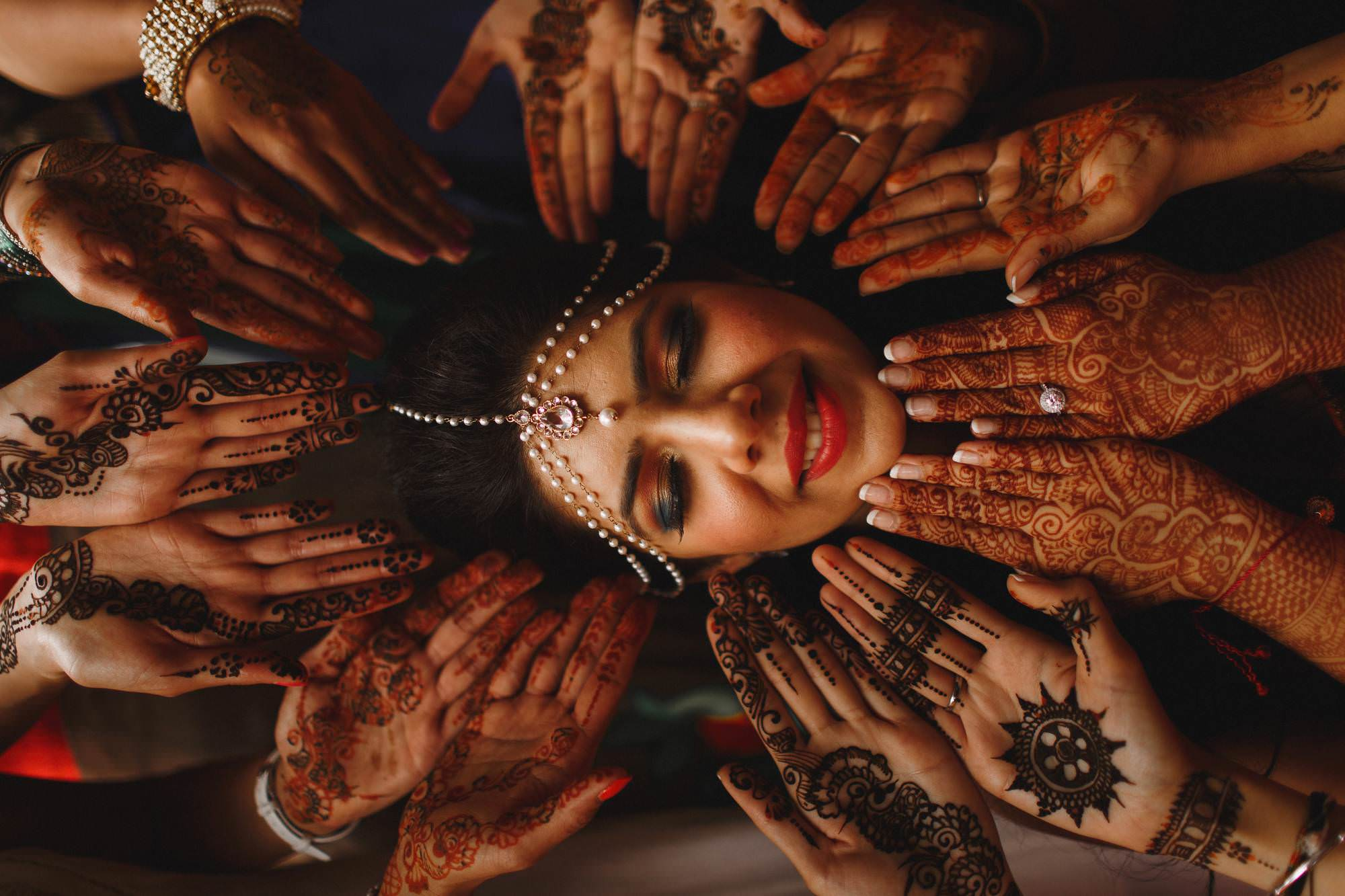 Destination wedding photography - Indian mehendi wedding photography