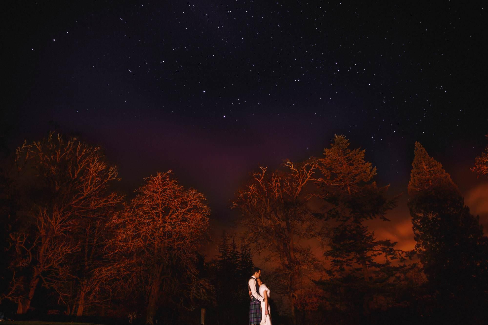 Scottish highlands wedding photography - Achnagairn House Inverness