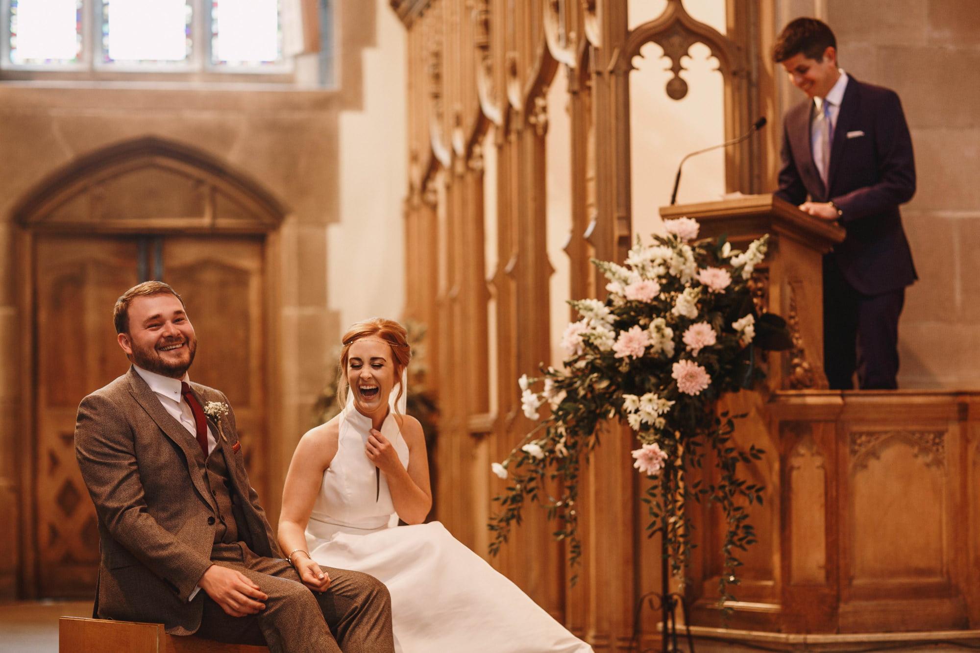 Liverpool wedding photography - church wedding ceremony