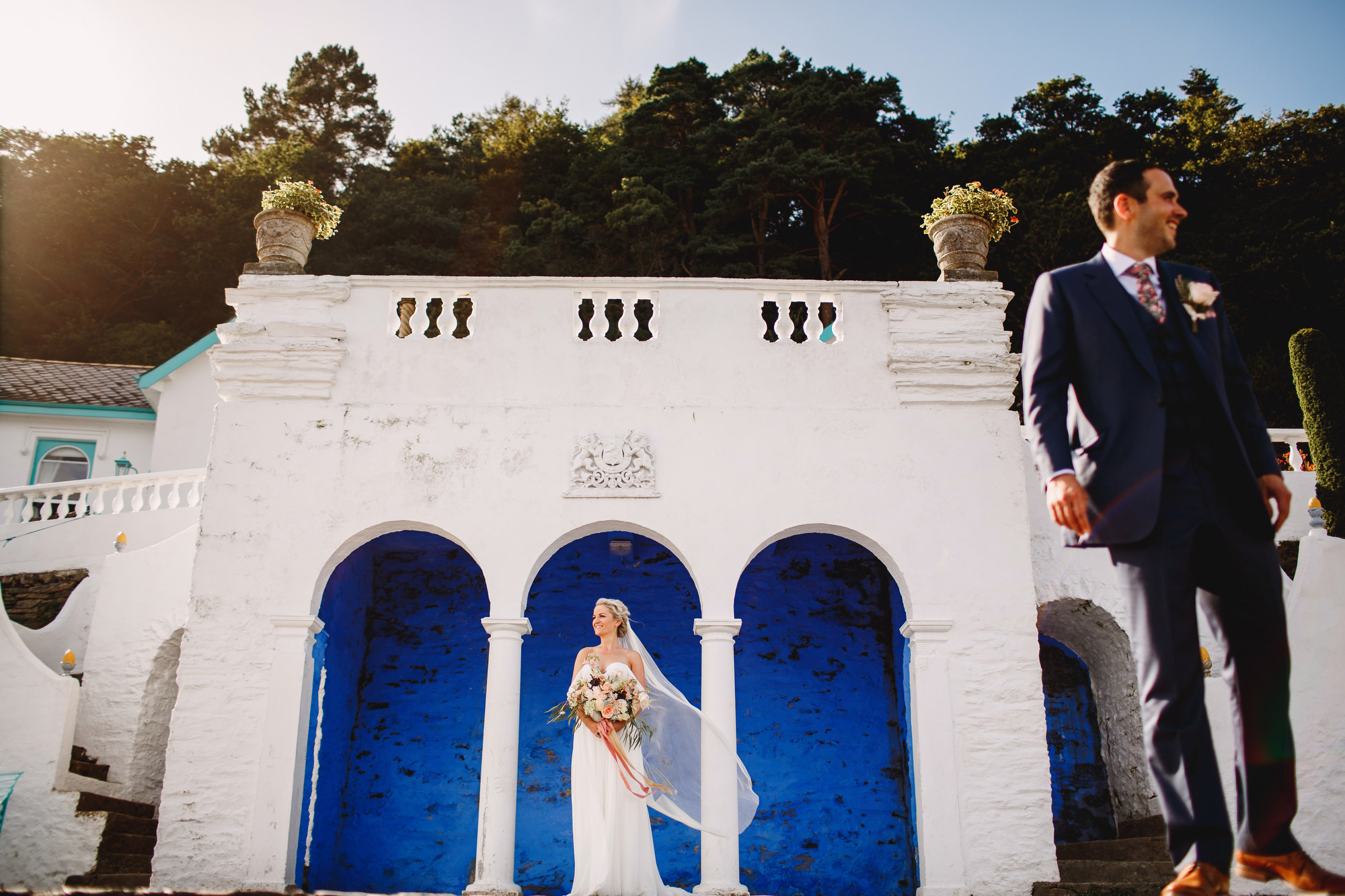 Portmeirion wedding photography Wales