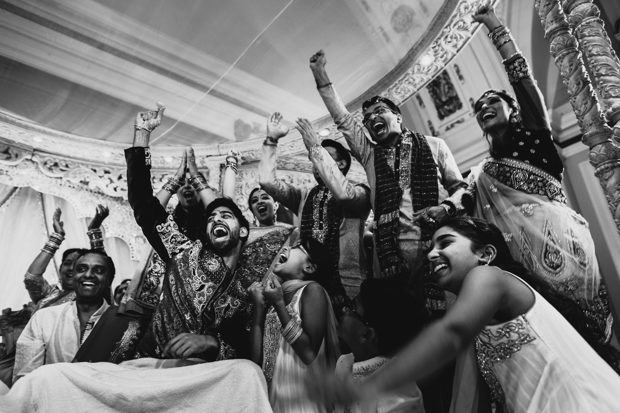 Indian wedding ceremony games photography