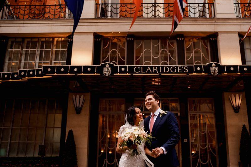 Claridges wedding photographer - arj photography®
