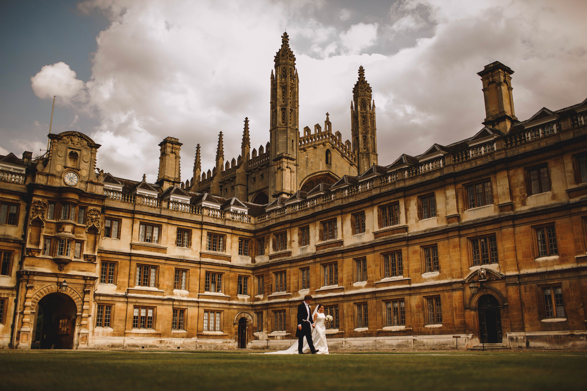 Clare College Cambridge University Wedding Photography