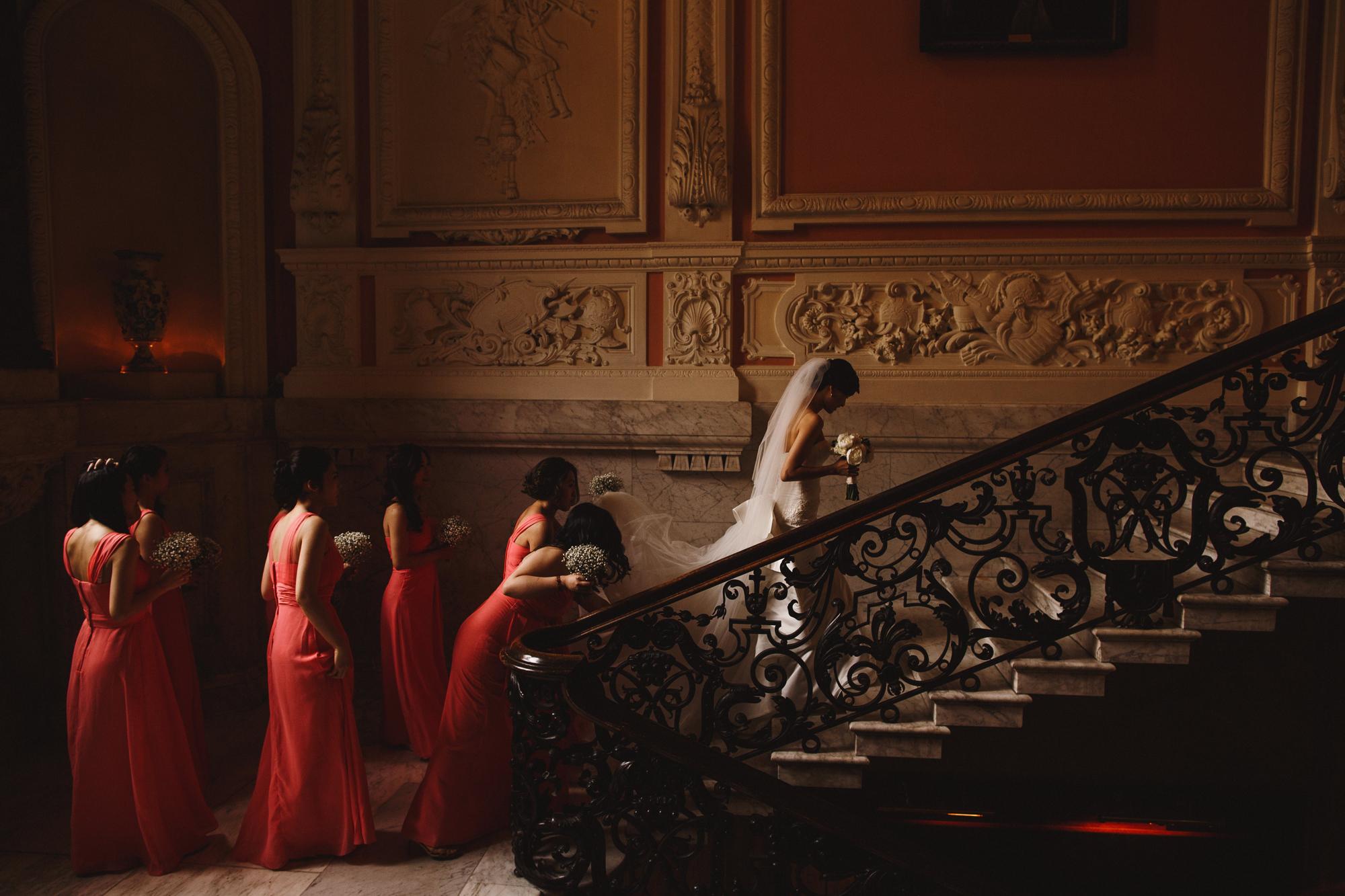 Dartmouth house wedding photography london mayfair