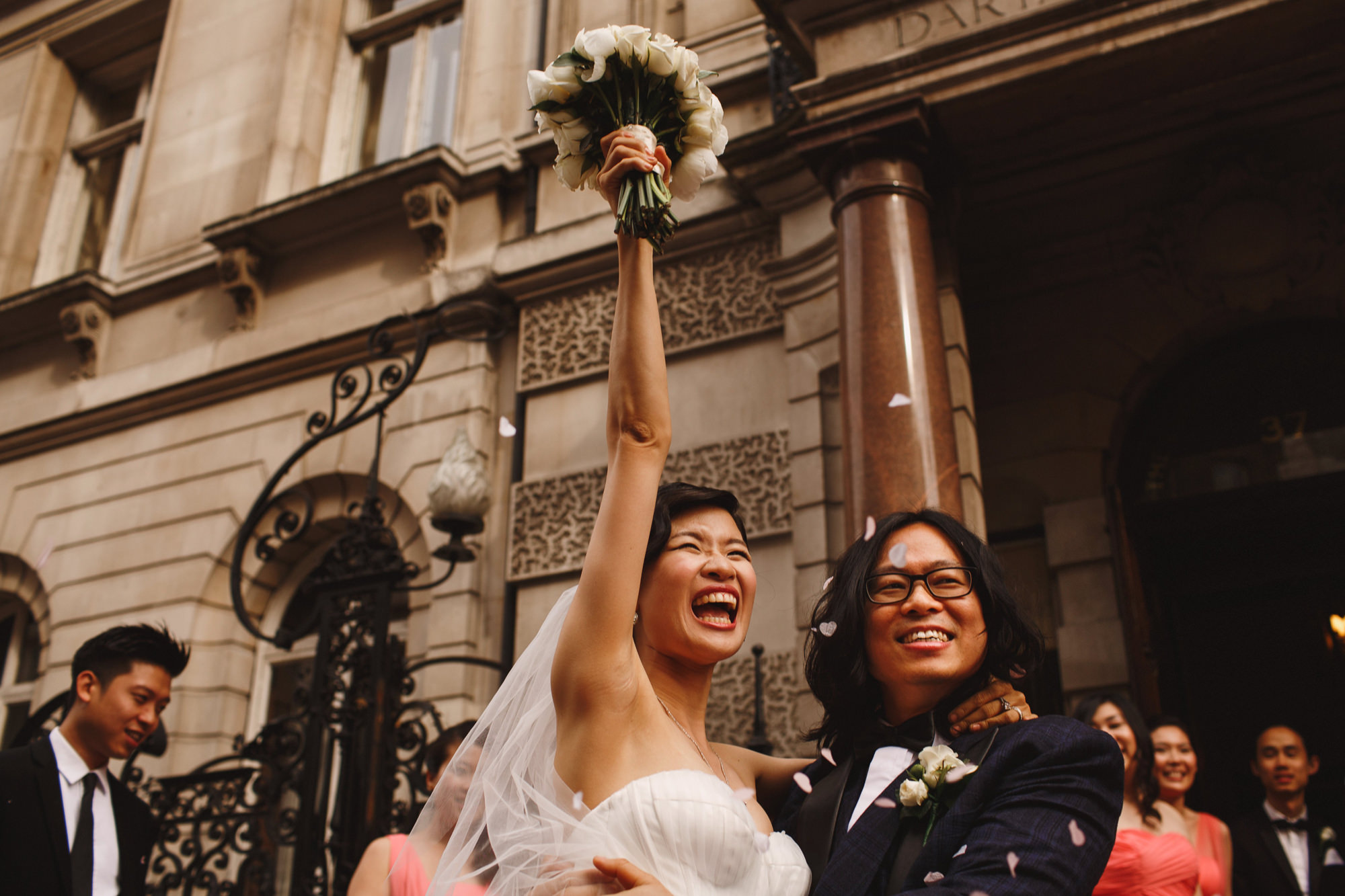 Dartmouth House Wedding Photography London Mayfair
