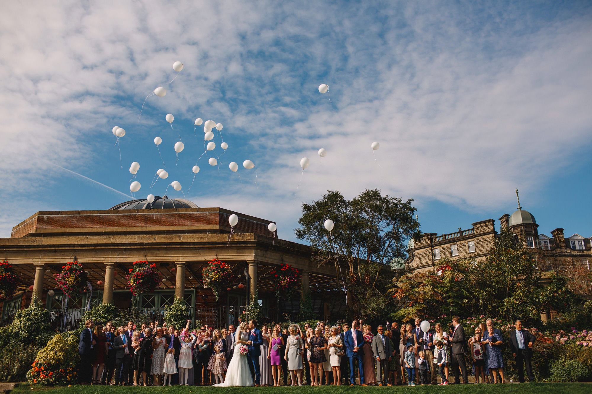 Harrogate Sun Pavilion Wedding Photography