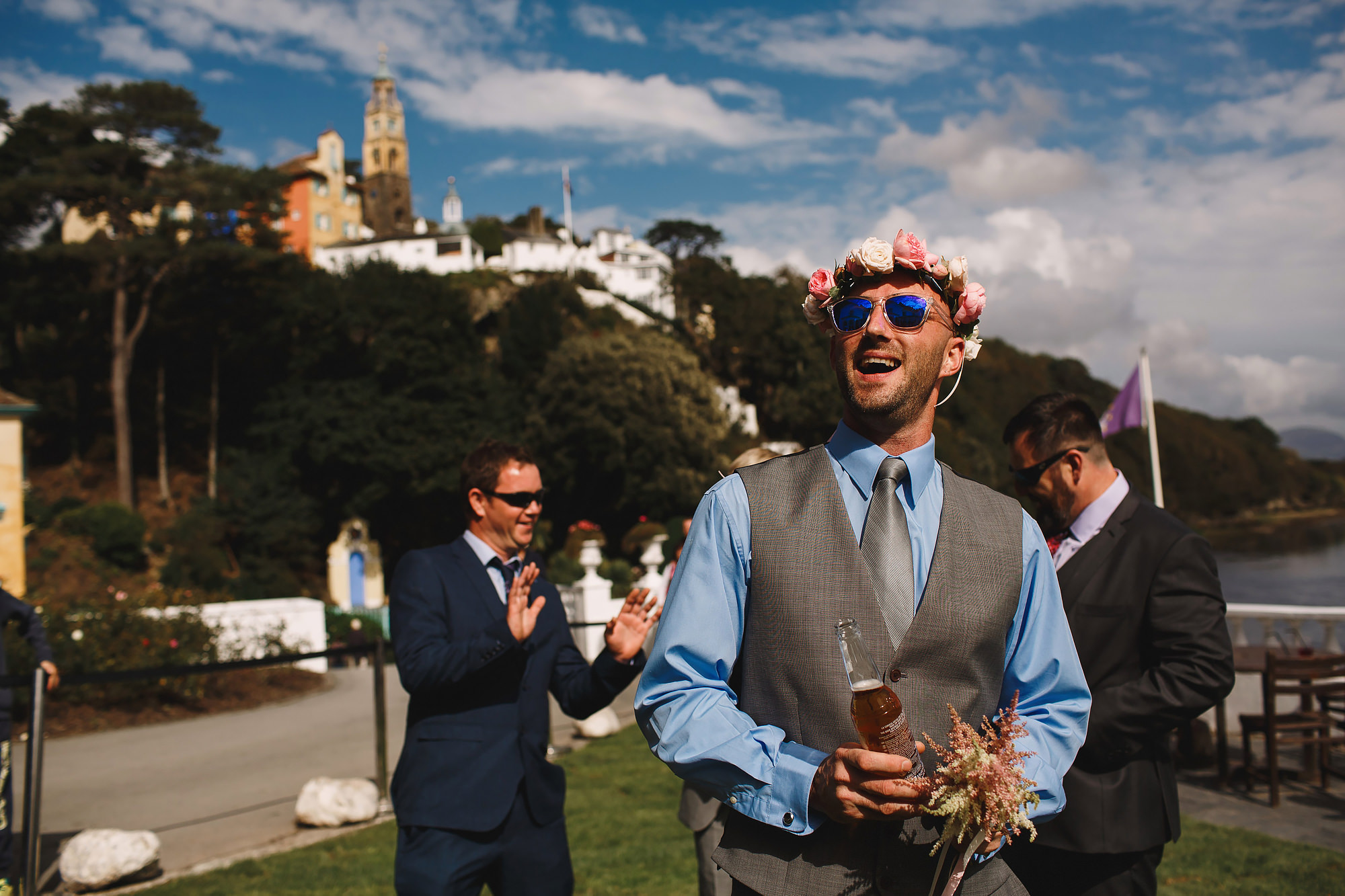 Portmeirion Wedding Photography Wales