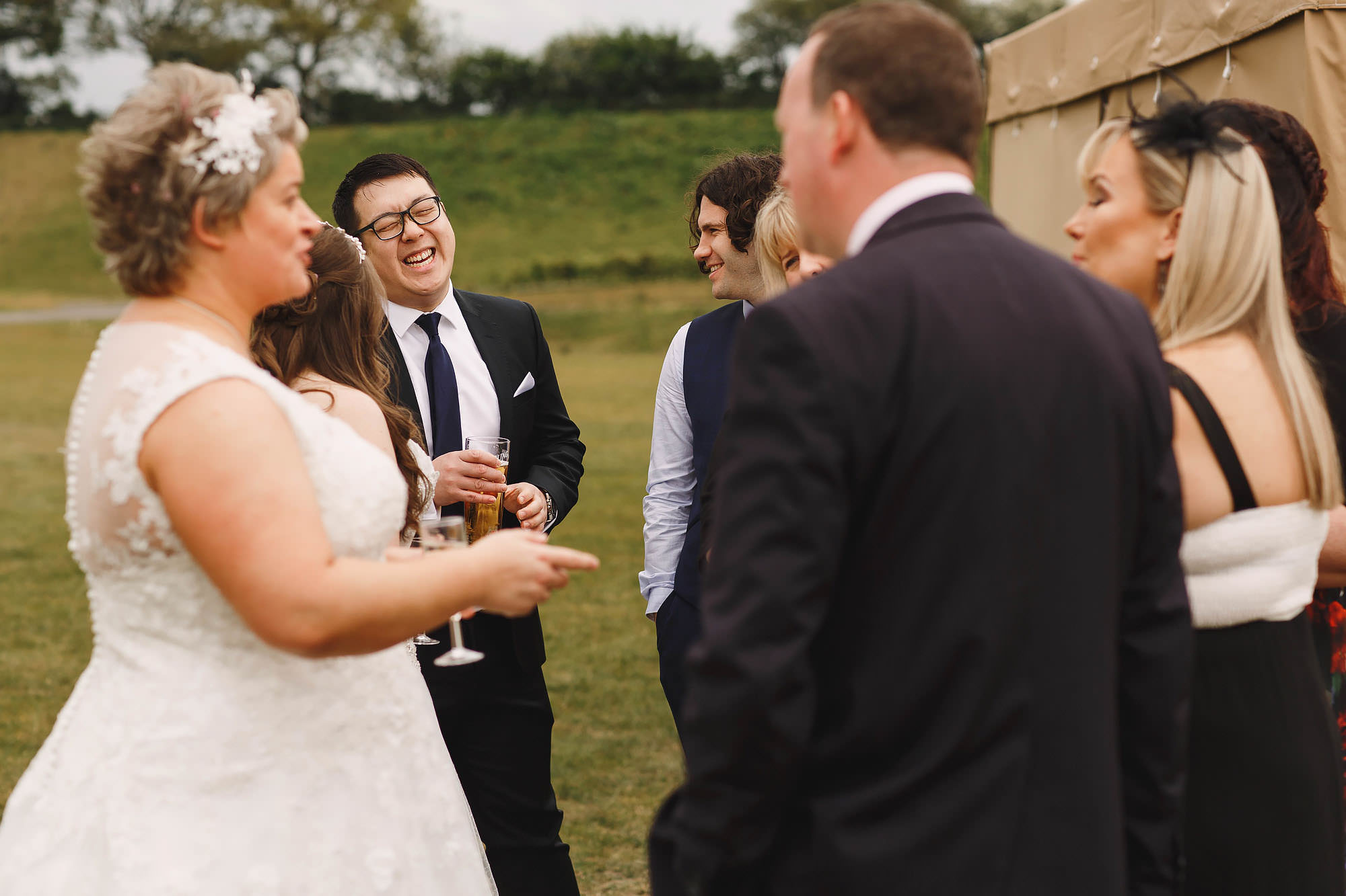 Delamere events cherry orchard lake wedding photography
