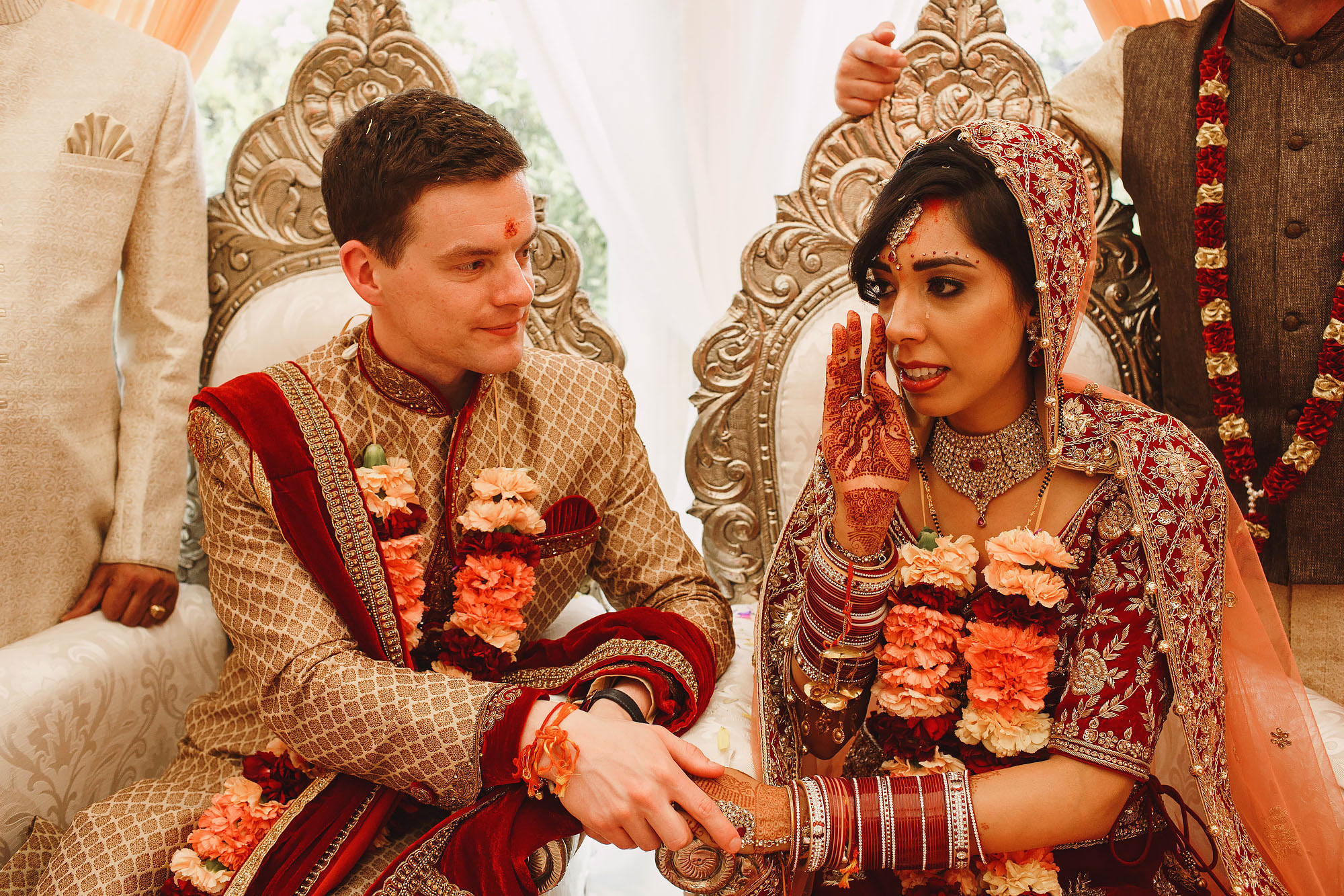 Beamish Hall Wedding Photography Newcastle Indian Wedding