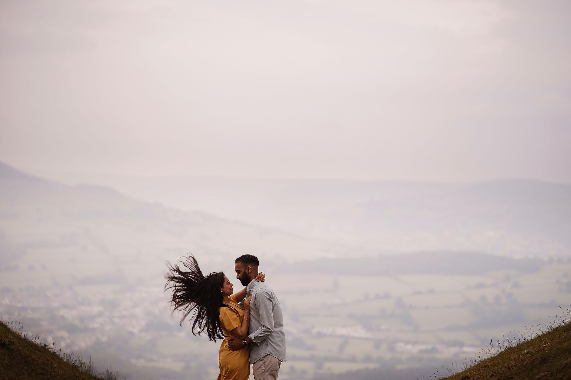 engagement shoot Sgwd yr Eira