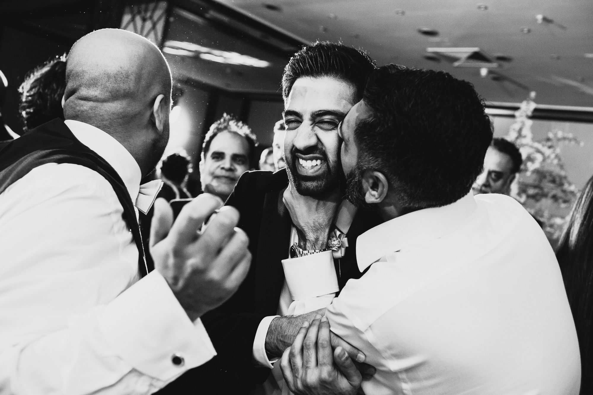 Hilton Gatwick Indian Wedding Reception Photography