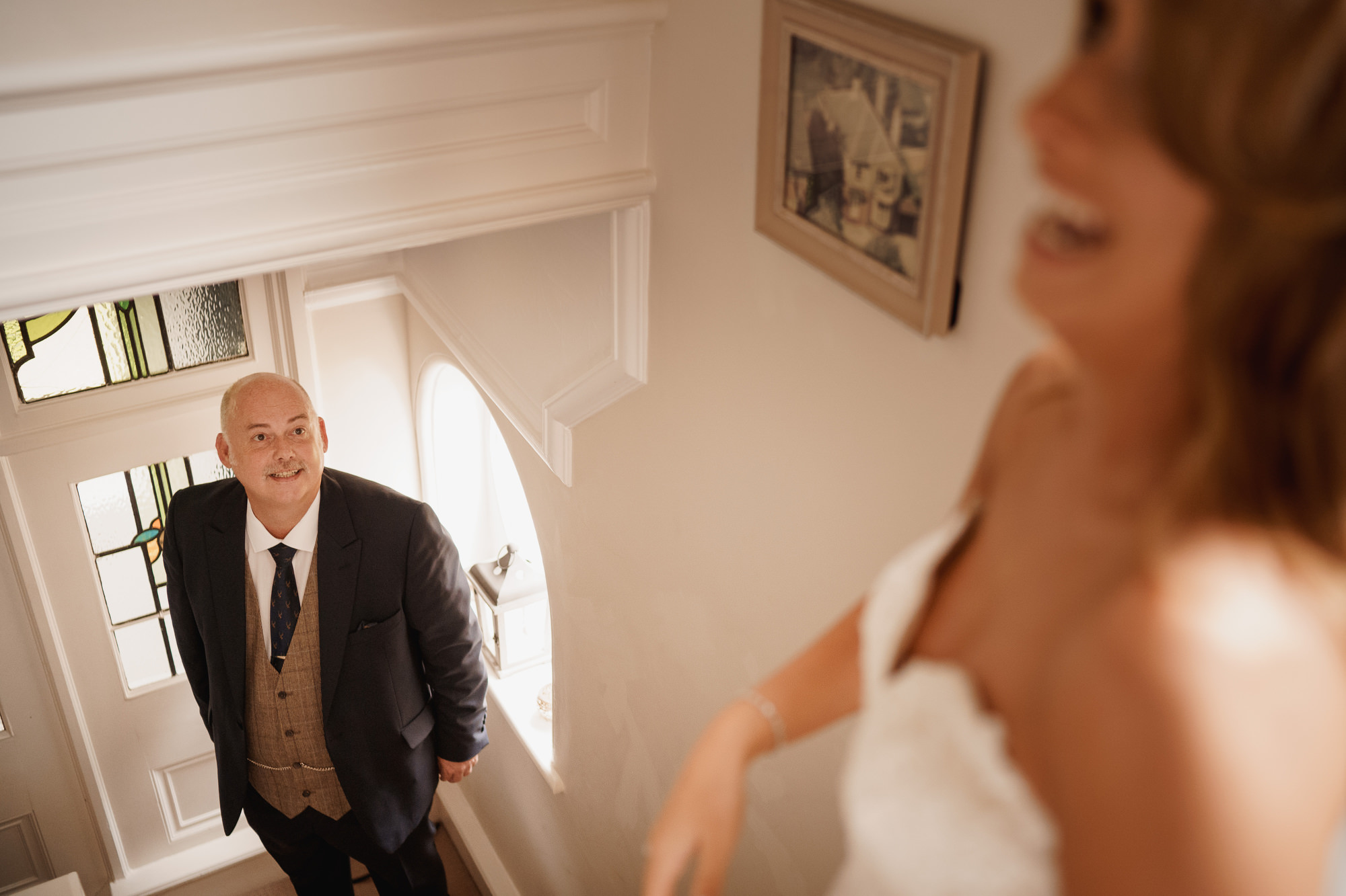 Browsholme Hall Tithe Barn Wedding Lancashire - Christina and Jack - ARJ Photography
