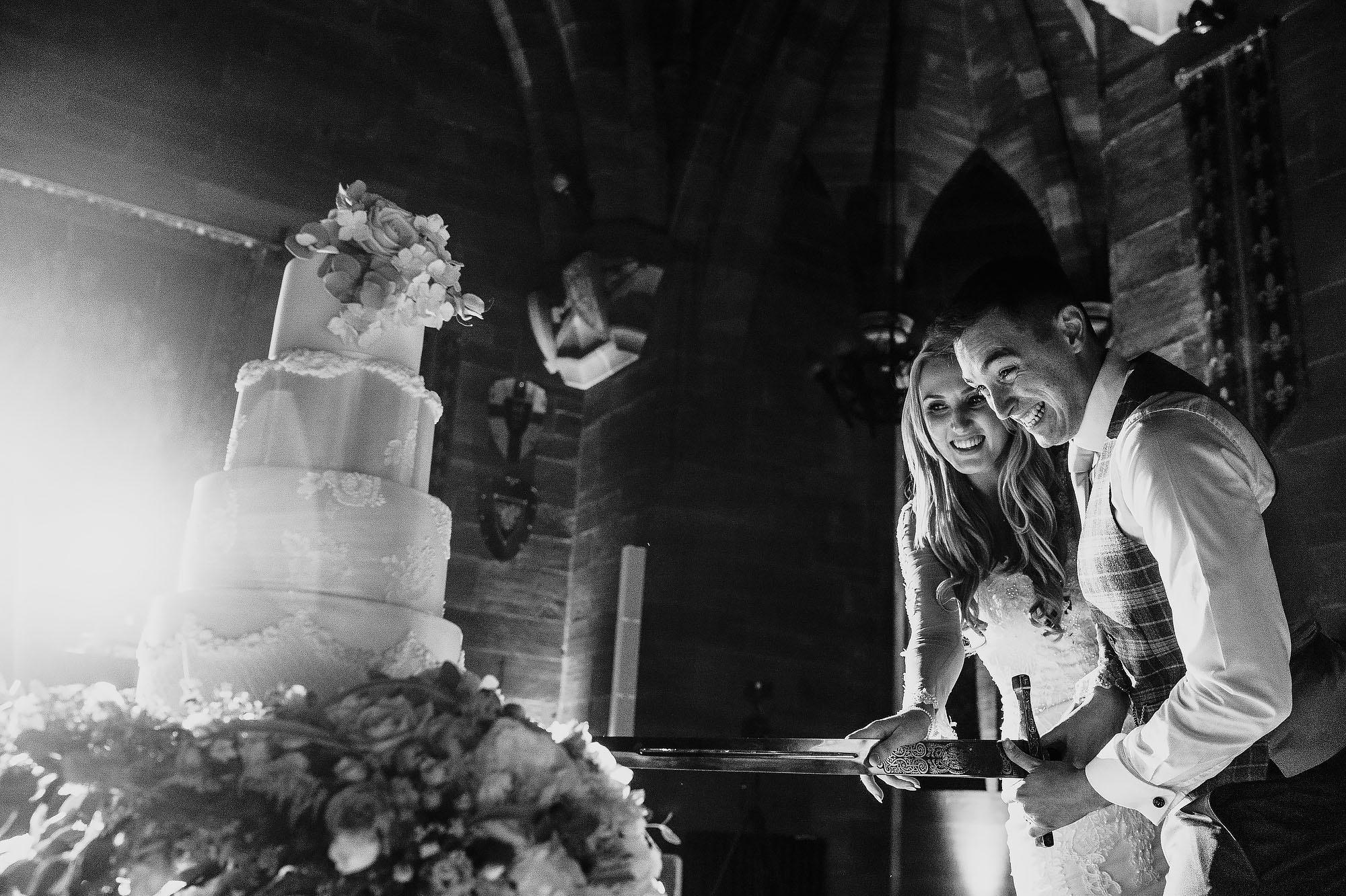 Peckforton Castle luxury wedding - Beautiful fine art wedding photography by ARJ Photography Cheshire