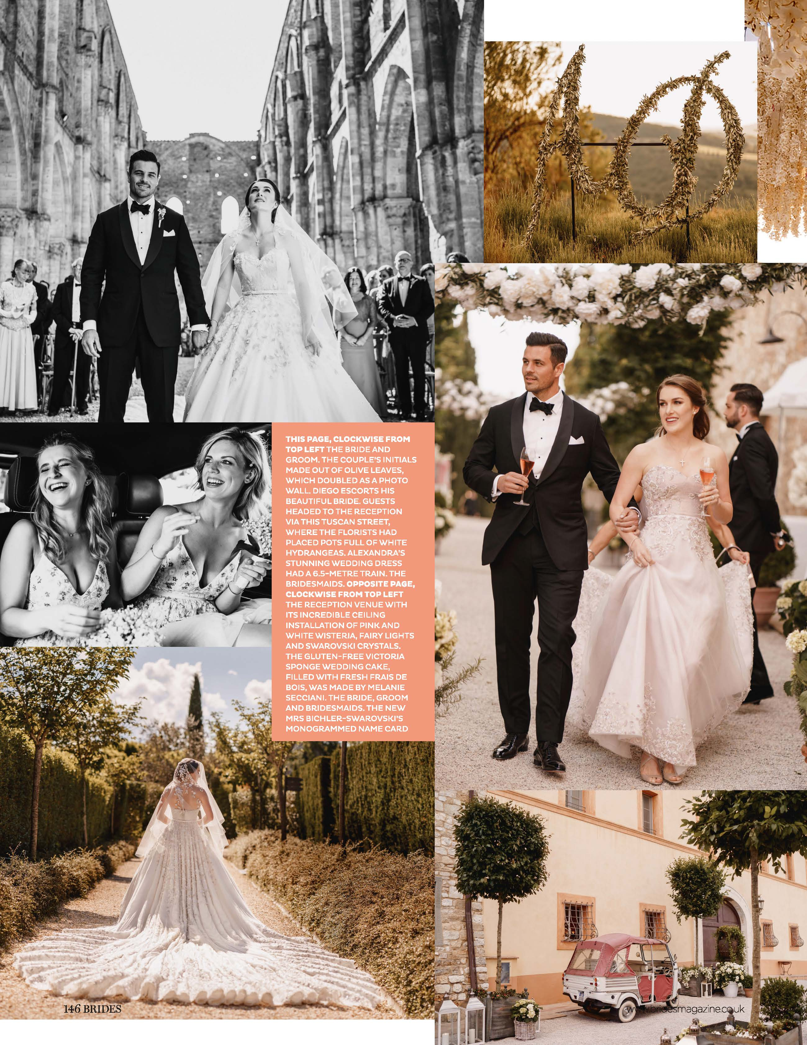 Brides magazine feature - luxury destination wedding photography by arj photography