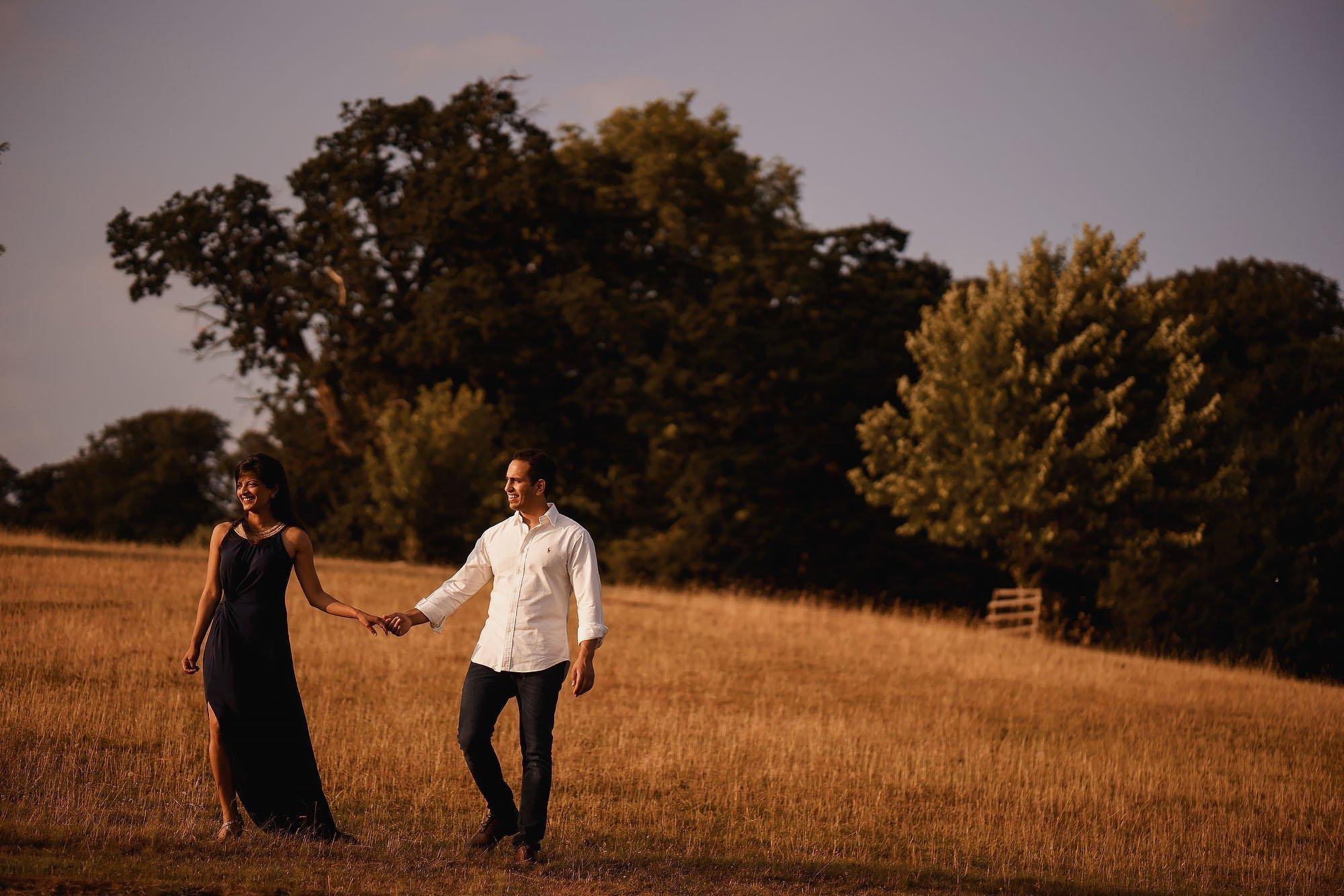 Bridwell Park Engagement Shoot - Wedding Photos at Bridwell Park Devon