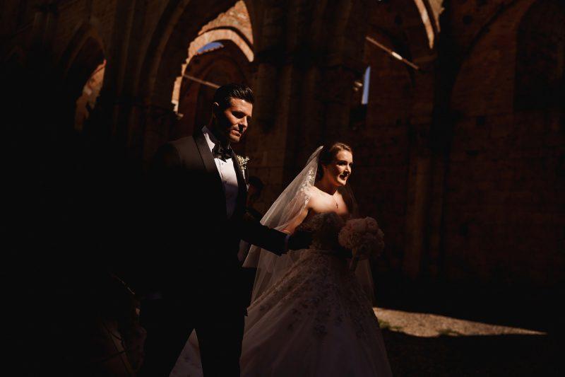 San Galgano Abbey wedding photographer